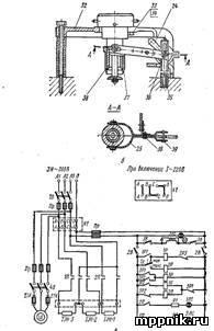 электрическая конфорка схема