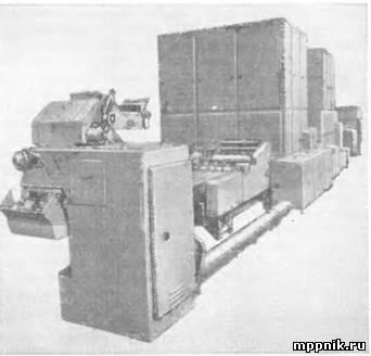 Комплексномеханизированная линия для производства мелкоштучных