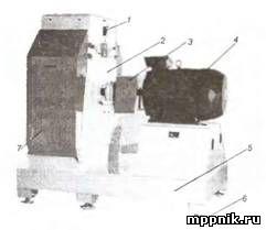 Дробилка зерновая мм70 завод горного оборудования