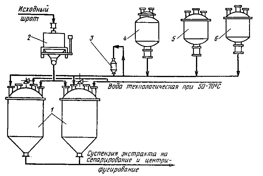 Схема соляной шахты