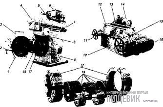 Оборудование для гранулирования на базе пресса ПГ-520