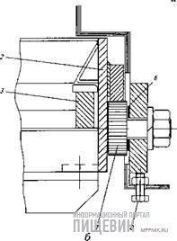 Выпускной (разгрузочный) механизм охладителей типа ТК