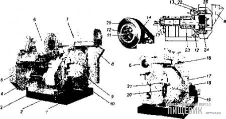 Внешний вид пресса-гранулятора «Компакт-600»