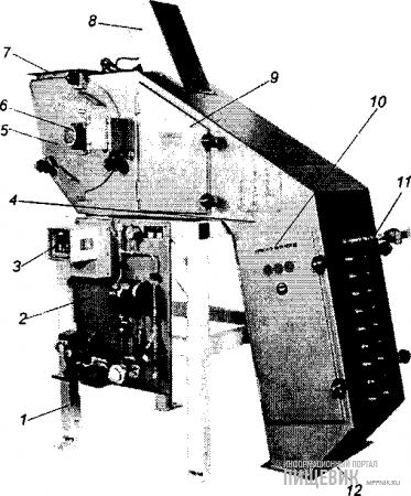 Аппарат для ввода жидких микродобавок
