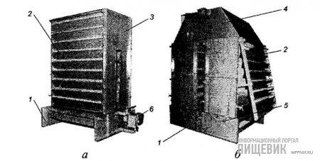 Вертикальные охладительные колонки «Спроут-Бауэр»