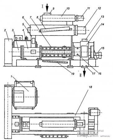 Конструктивная схема экспандера ЭК-1-250