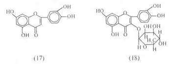 природных флавонолов кверцетин-З-рамнозид