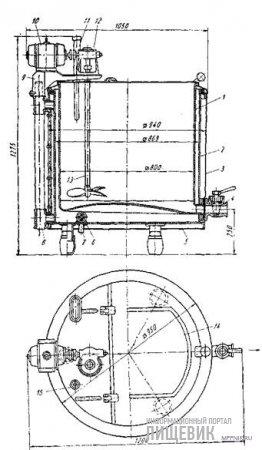 Ванна длительной пастеризации (ВДП-300)
