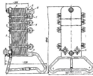 Пластинчатый регенератор