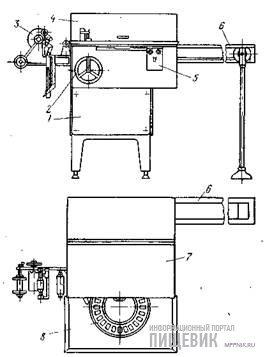 Автомат М6-ОЗБ для завертки глазированных сырков