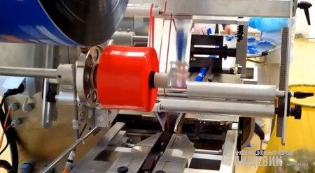 машина для упаковки глазированных сырков