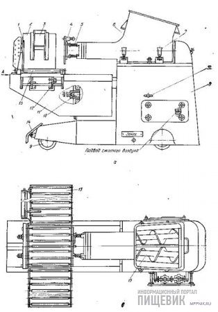 Машина М6-0РГ для крупной фасовки масла