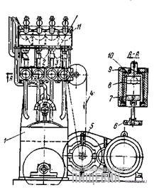 Стаканчиковый дозатор жидких компонентов в тестомесильной машине Х-12