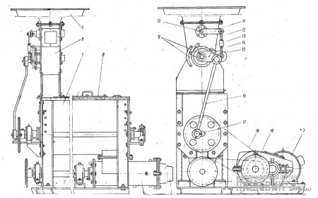 Тестомесильная машина ТМН-70
