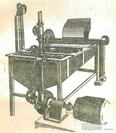 Машина для дробления томатов со сборником (общий вид)