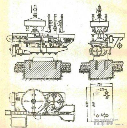 Автоматический наполнитель РУА-3,5