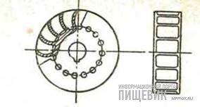 Рабочее лопастное колесо вакуумнасоса