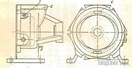 Общий вид вакуумнасоса типа Нат-Гайтор